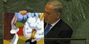 Netanyahou bombe cartoon