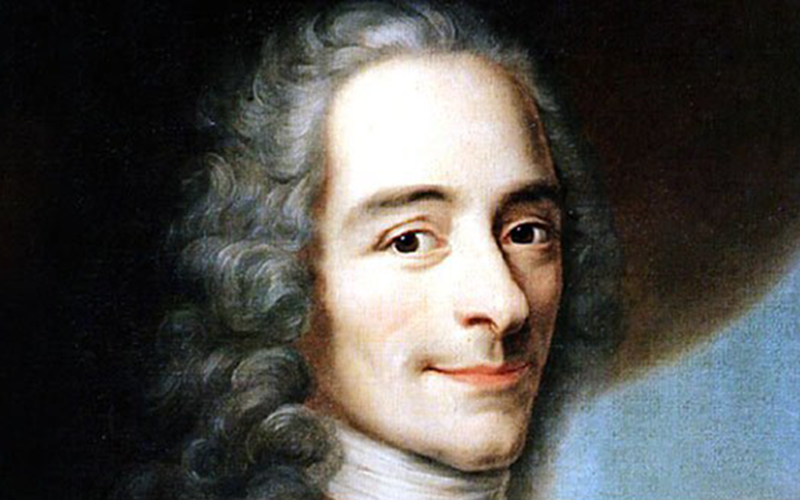 Voltaire pseudonyme verlan Arouet