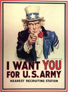 Affiche Uncle Sam I want you