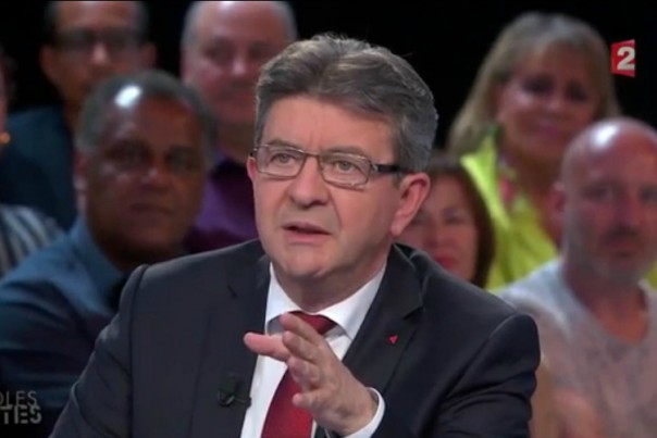Mélenchon France 2 Des paroles et des actes